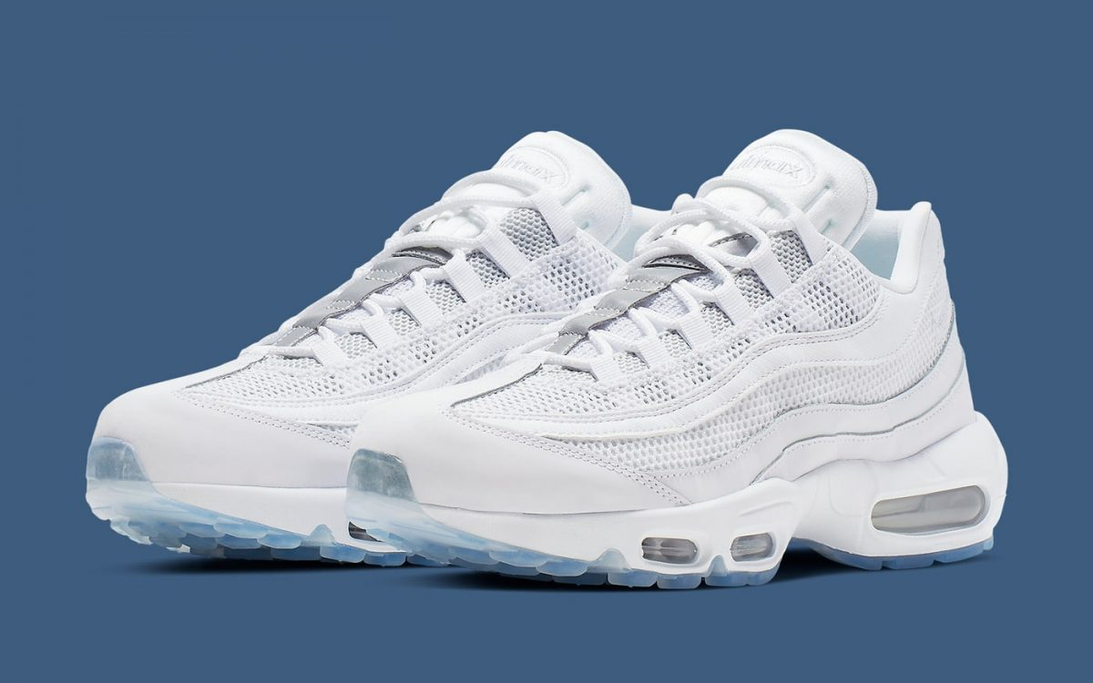 Available Now // Icy Soles Hit the Iconic Air Max 95 for Spring
