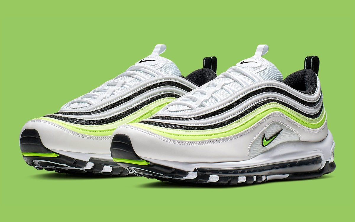 timeless design 10abb 1e93a Nike Charge Up the 97 With Flashes of Volt