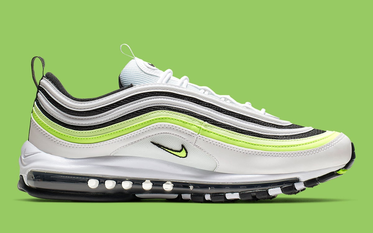 Nike Charge Up the 97 With Flashes of Volt HOUSE OF HEAT