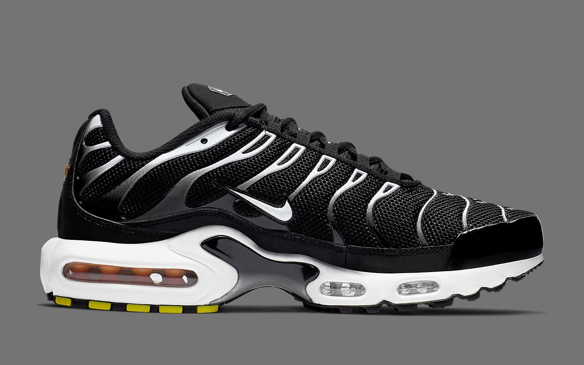 Available Now The Air Max Plus Pops Up in a Zebra Finish