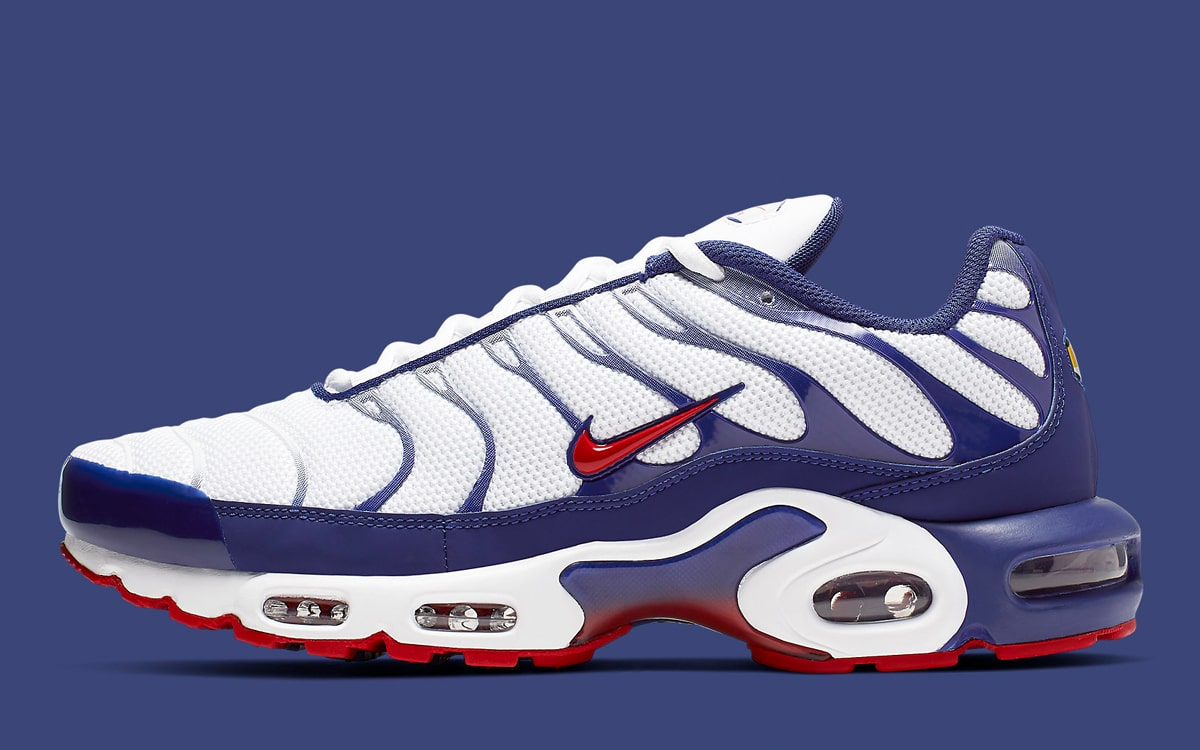202f758ba0 Available Now // This Air Max Plus is Created for 4th of July ...
