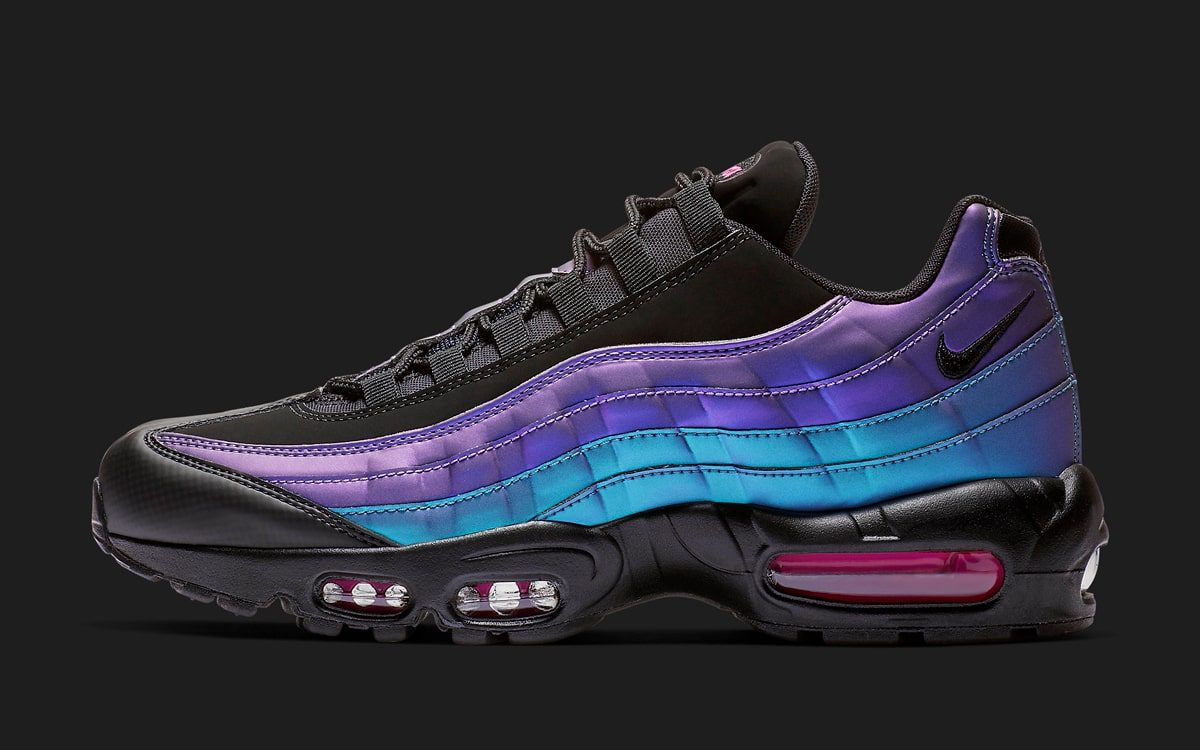 fad8e74776 Nike is Throwing it Back to the Future with this Iridescent Air Max Pack