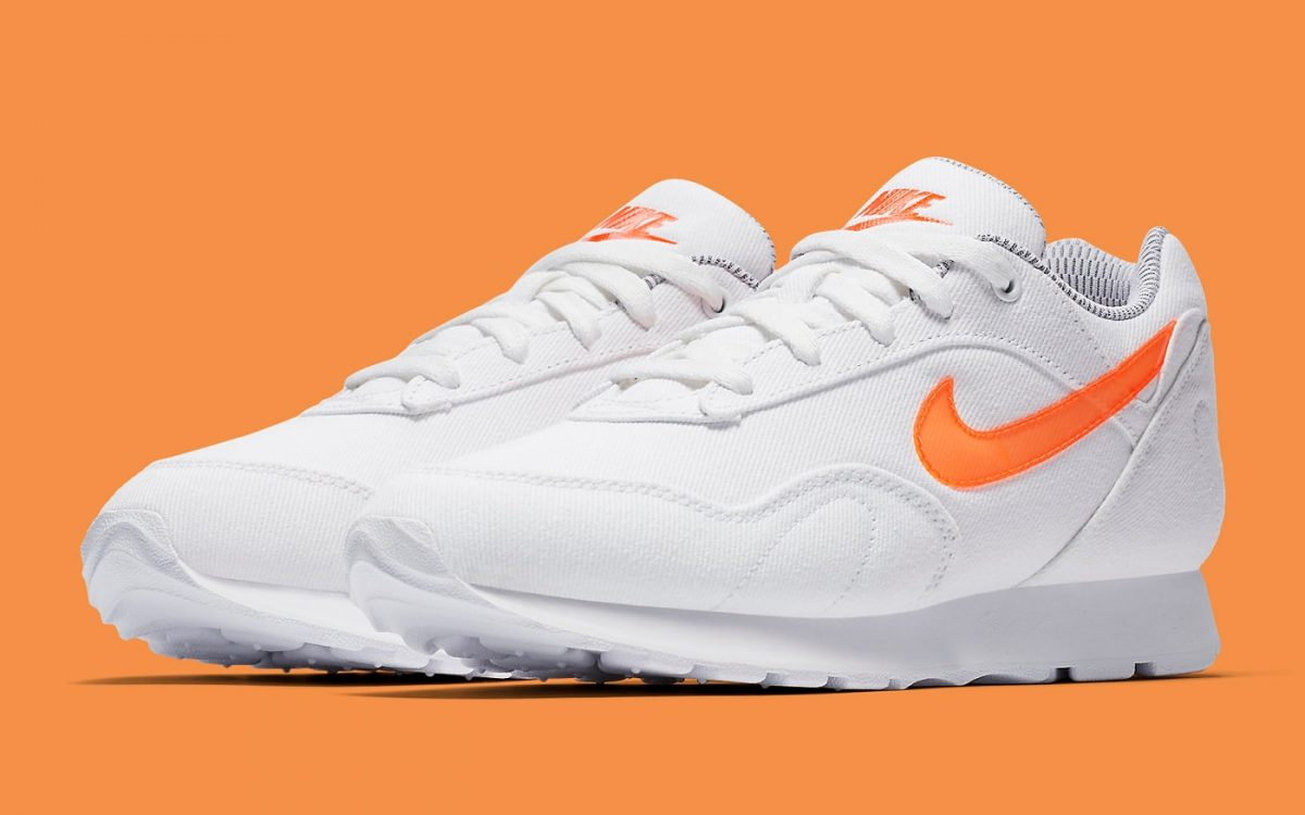 These White Denim Nike Outbursts Shout Out South Beach