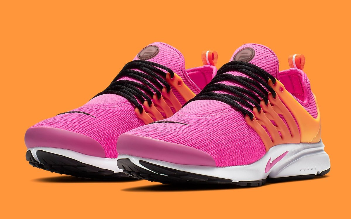 Available Now // Nike Air Presto in Laser Orange and Fuchsia