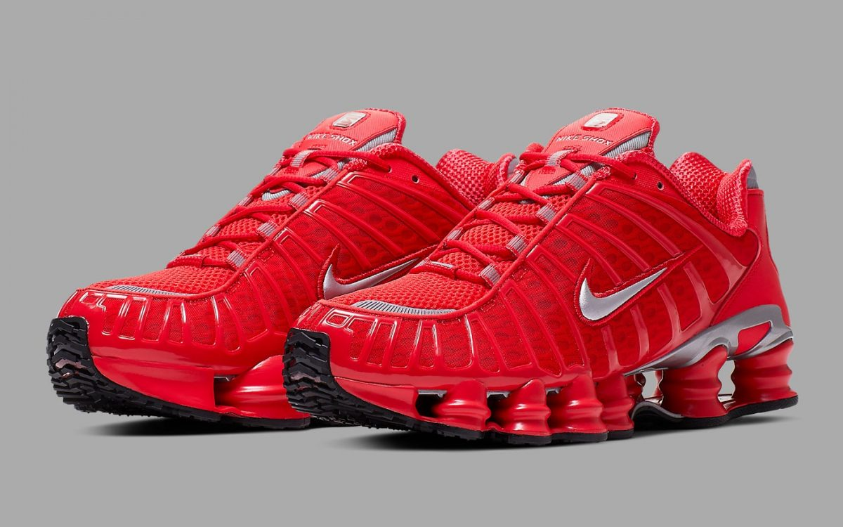 The Nike Shox TL Set to Release a Wild Red Rendition