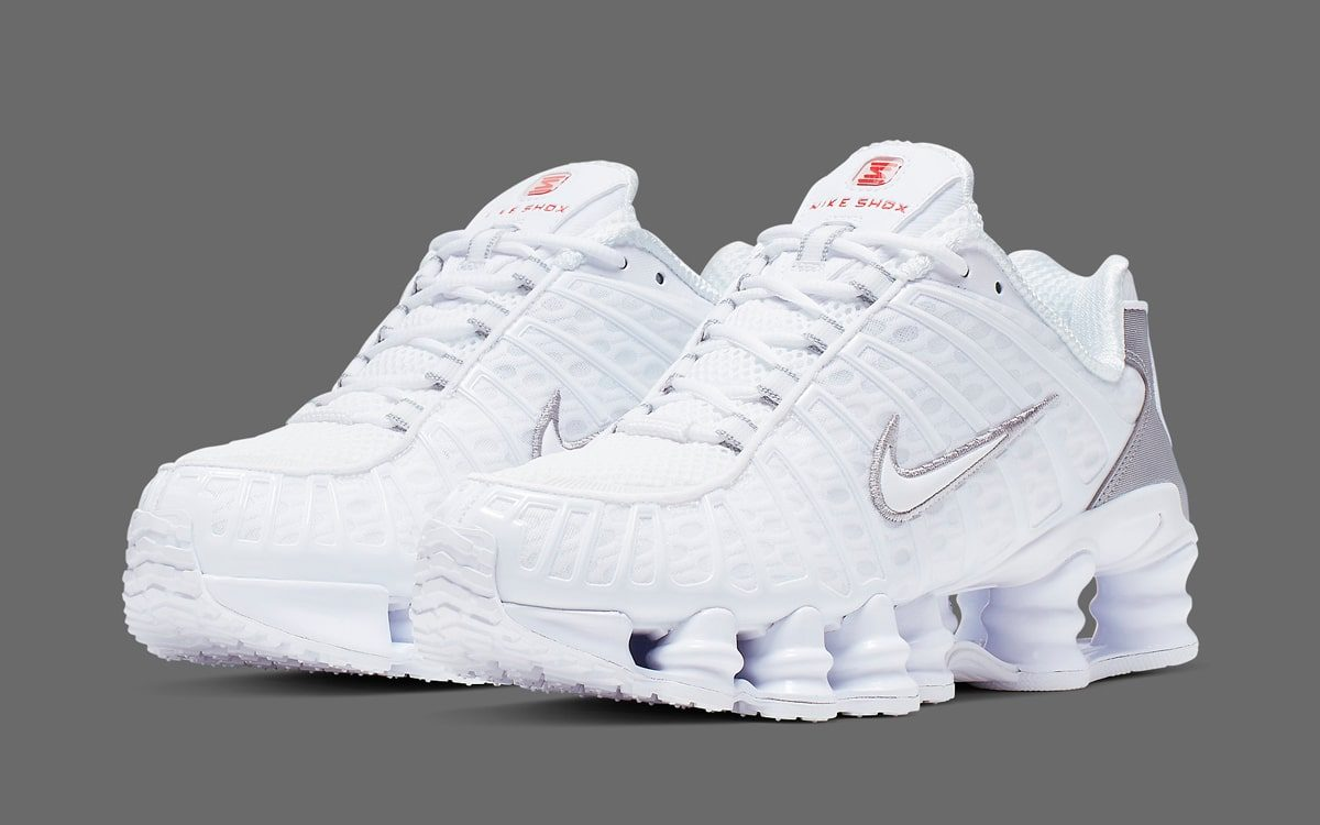 The Nike Shox Total Arrives in (Almost) All-White - HOUSE OF ...