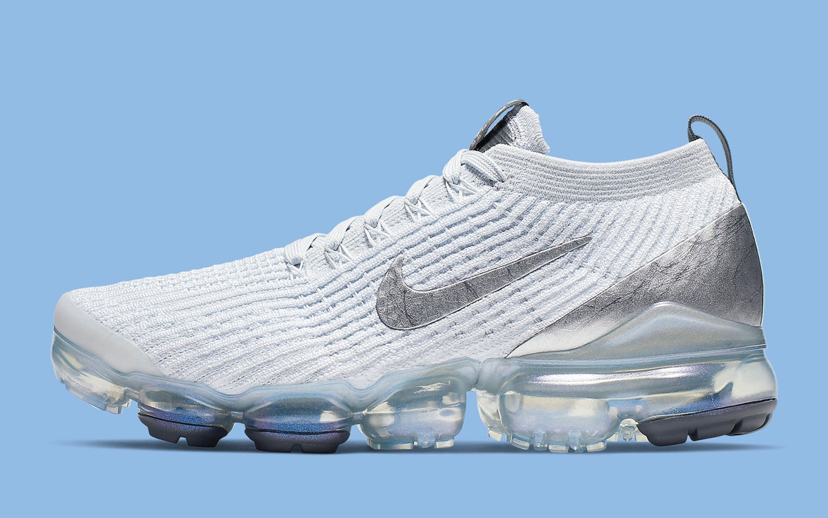 2a133c6fa6 Nike's Newest VaporMax Set to Arrive in a Steely Metallic Silver ...