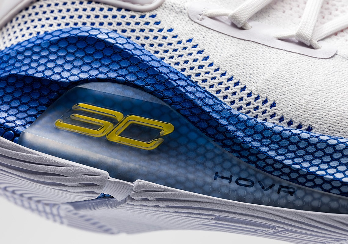 "7a159f9b5651 Steph s Annual ""Dub Nation"" Colorway Returns on the UA Curry 6 ..."
