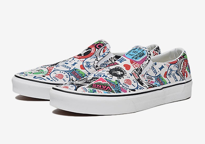 This Slip-On is Slapped with Historical Vans Logos