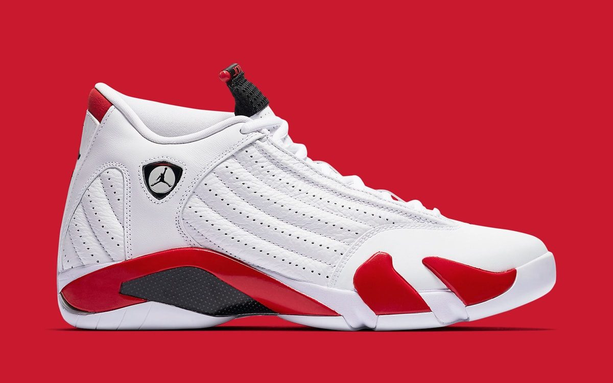 "Where to Buy the ""Candy Cane"" Air Jordan 14"