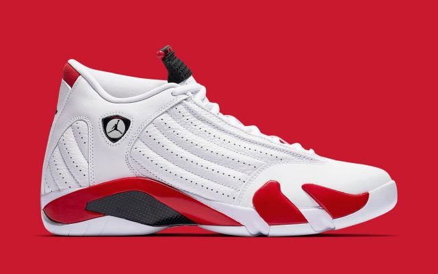 "7b52c964be4520 Where to Buy the ""Candy Cane"" Air Jordan 14"