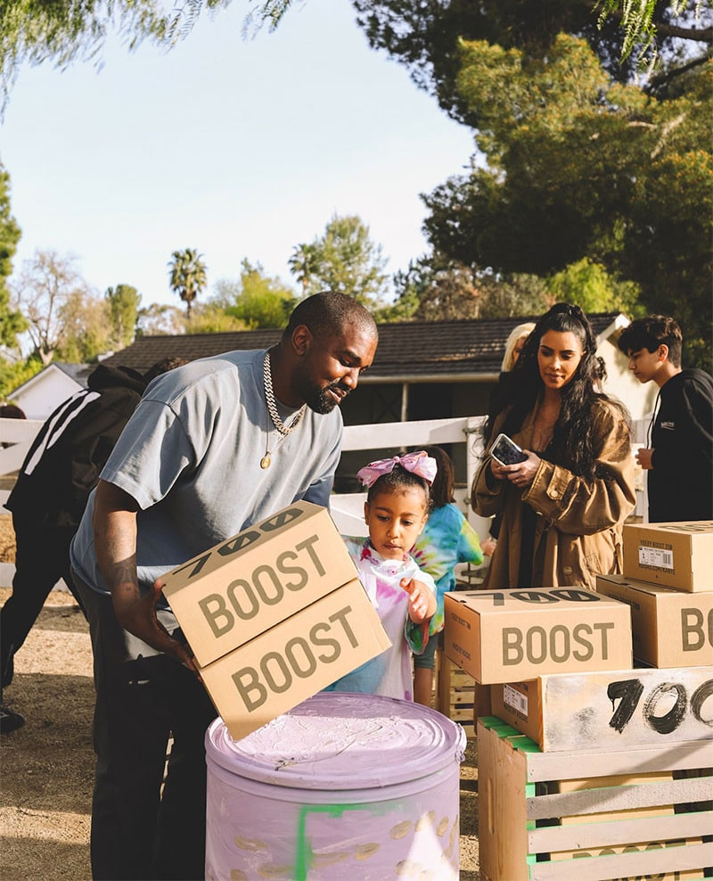 See All the Shots From Kanye's YEEZY Lemonade Stand Sales to Benefit Mental Illness