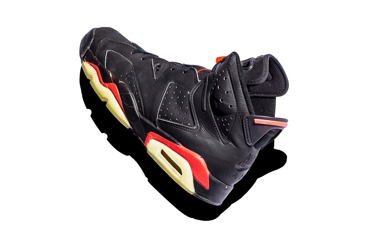 73c6dd815010 The Black Infrared Air Jordan 6 is not only the best Air Jordan 6 to ever  live