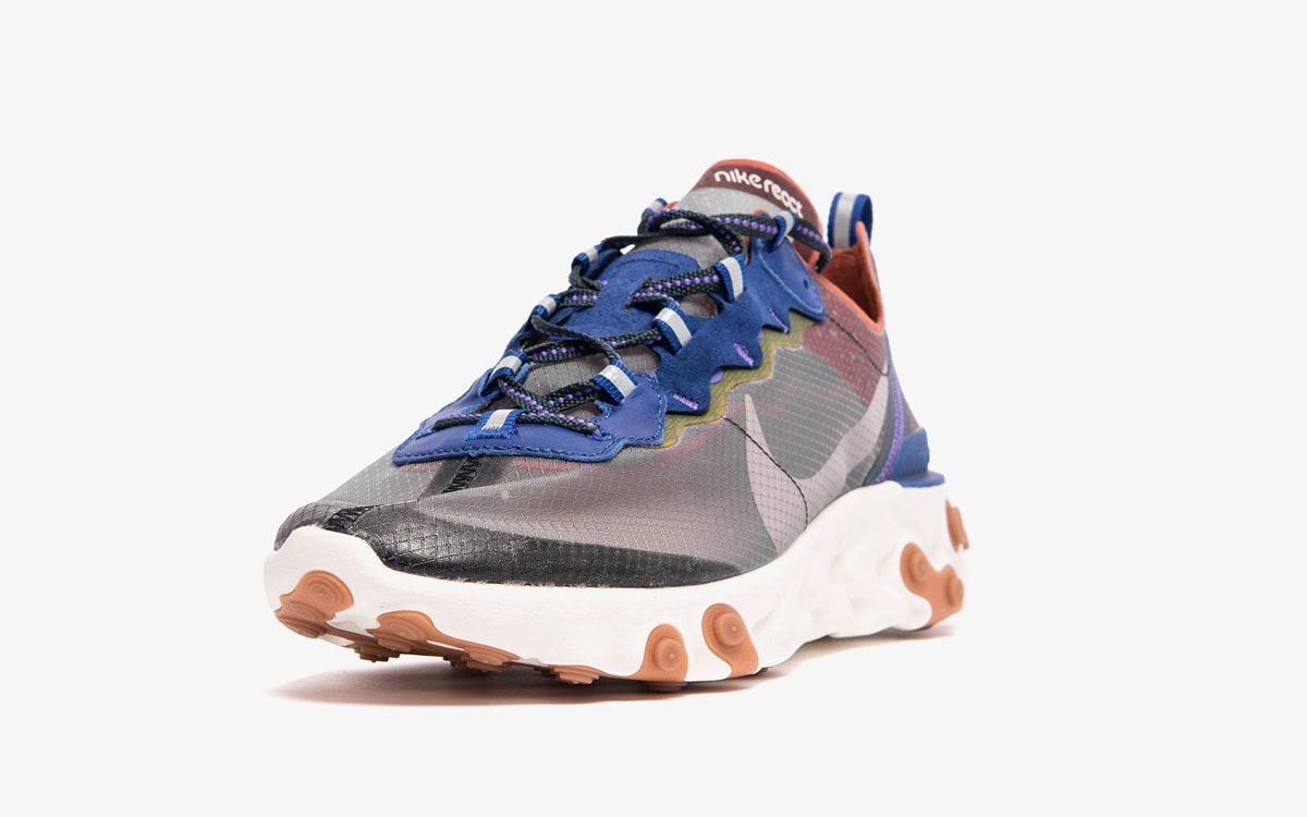 Nike React Element 87 Dusty Peach/Atmosphere Grey AQ1090-200