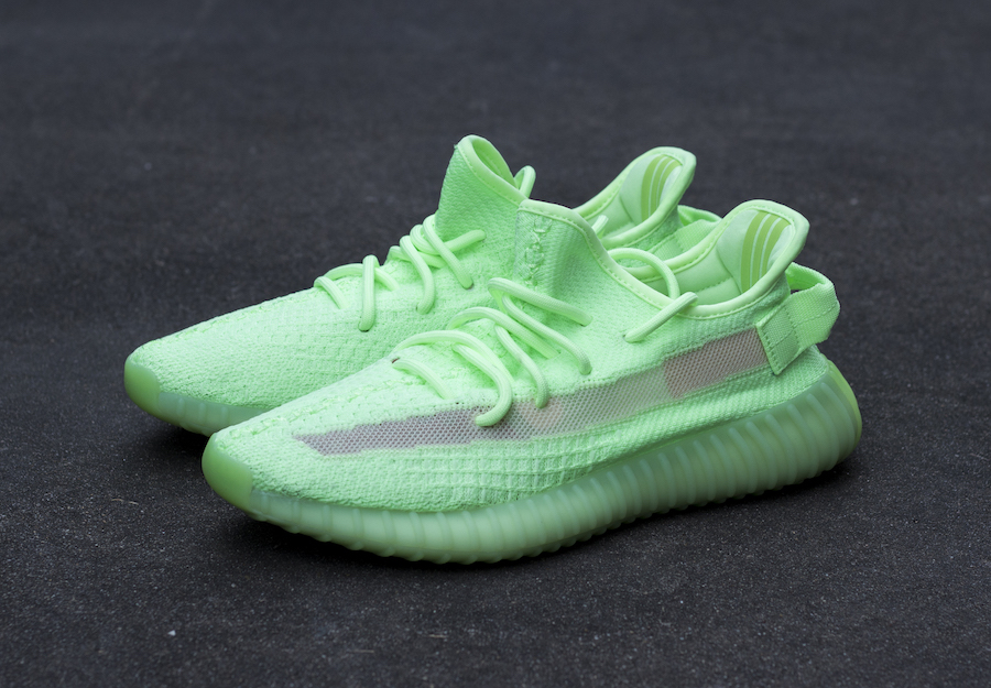 "Detailed Looks at the adidas YEEZY 350 v2 ""Glow in the Dark"""