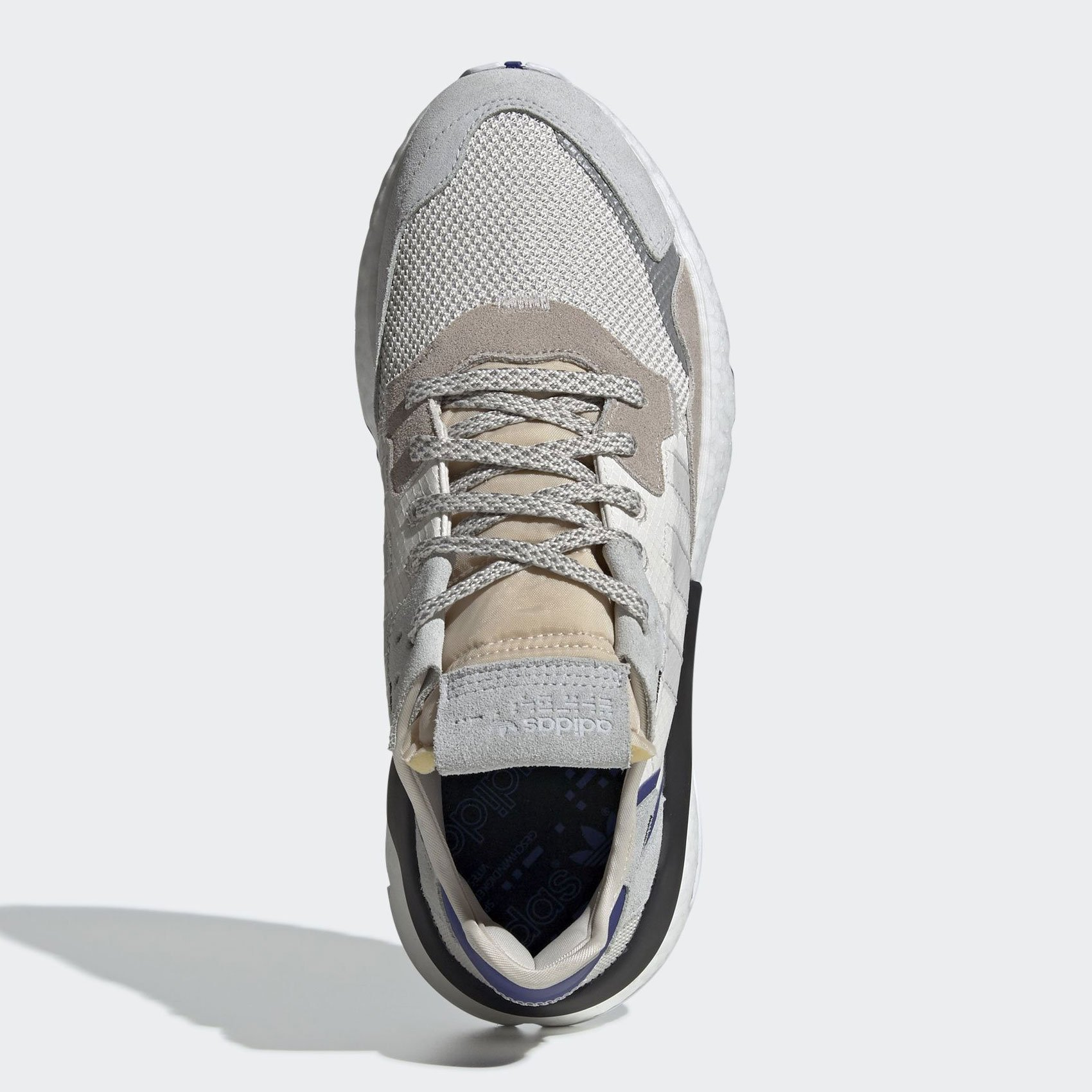 adidas Nite Jogger Raw White/Grey One/Active Blue F34124