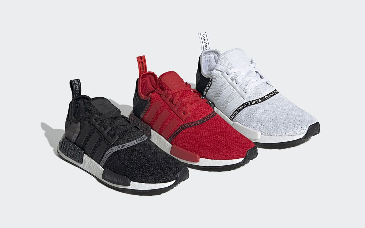 This Trio Of Speckled Nmds Arrive This Week House Of Heat