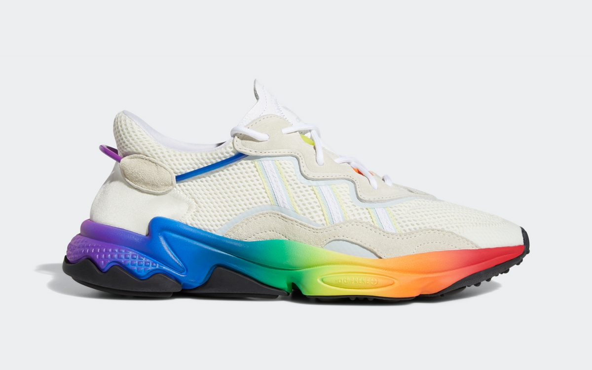 adidas to Celebrate LGBT Pride Month With a Colorful Rainbow Ozweego