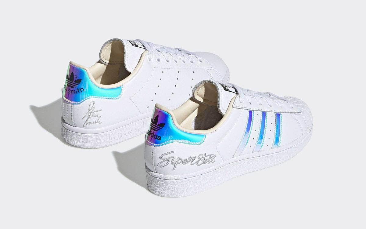The Iconic Stan Smith and Superstar Arrive with Iridescent Embellishments
