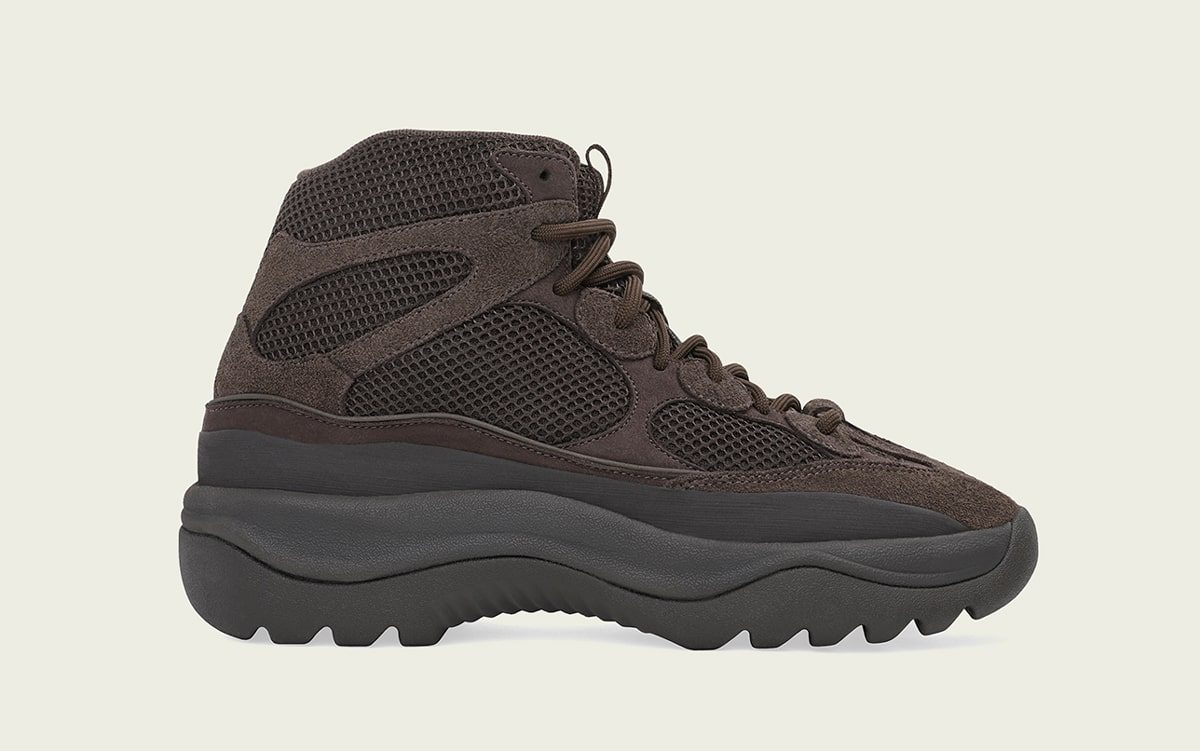"Where to Buy the adidas YEEZY Desert Boot ""Oil"""