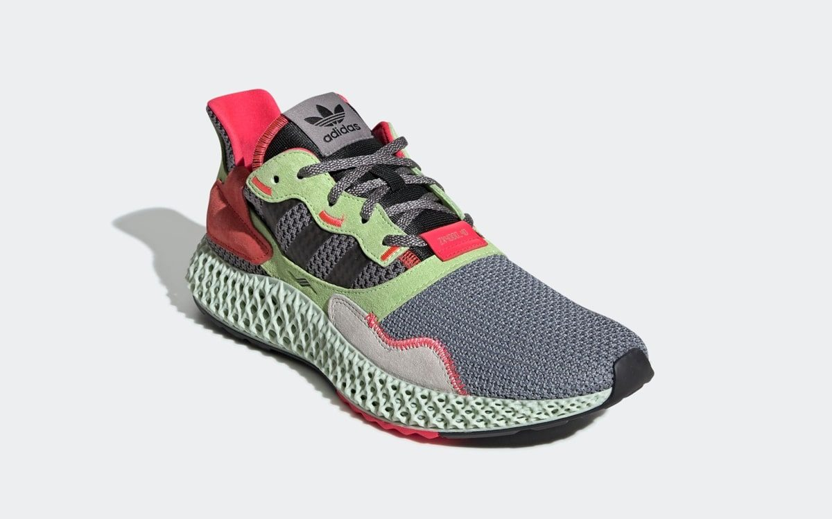 "The ""Hi Res Yellow"" adidas ZX 4000 4D Releases Tomorrow (and Today at Some Retailers!)"