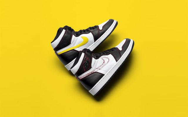 """hot sale online eabe6 71d7e Detailed Looks at the Air Jordan 1 Defiant """"Dynamic Yellow"""""""