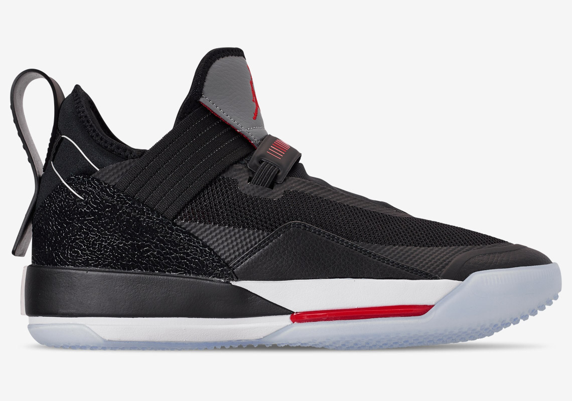 "dcbaf1def758 The Air Jordan 33 Low ""Black Cement"" Releases May 3rd - HOUSE OF ..."