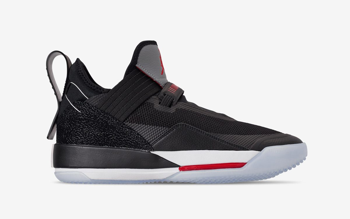 "The Air Jordan 33 Low ""Black Cement"" Releases May 3rd"