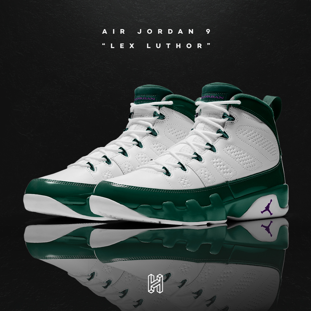 Air Jordan 9 Lex Luthor Concept