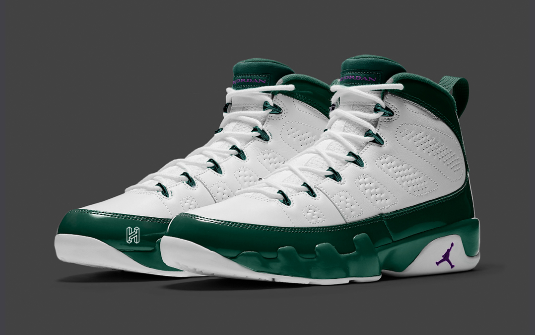 "Concept Lab // Air Jordan 9 ""Lex Luthor"""