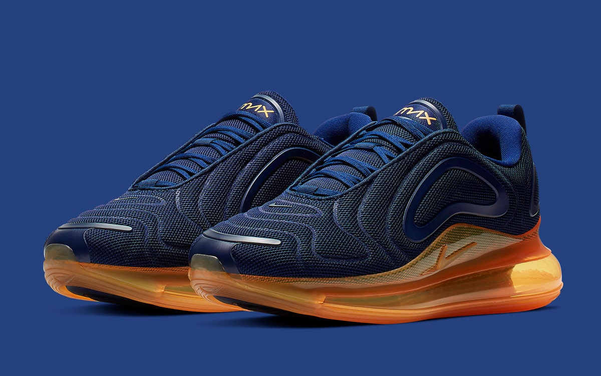 Available Now The Air Max 720 Arrives In Nautical Navy House