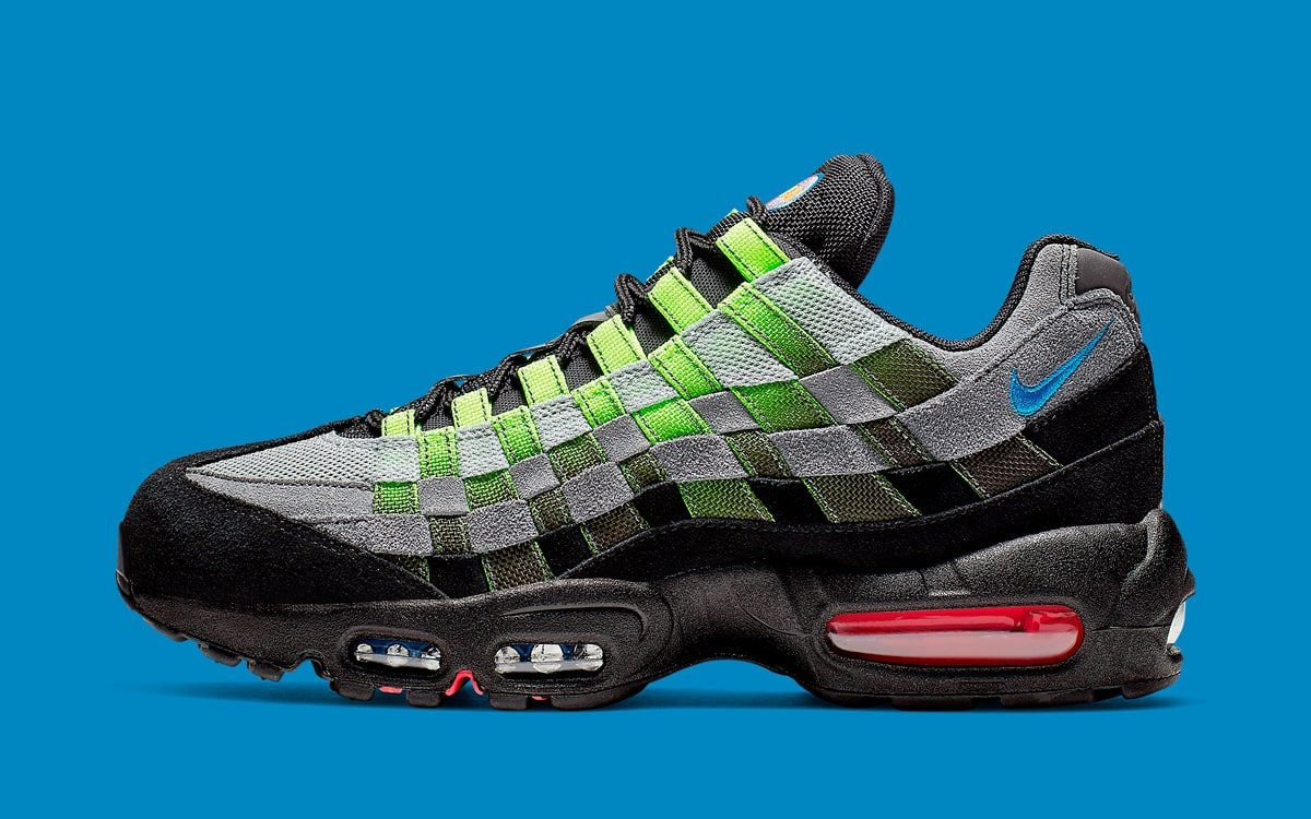 557aac9ca2 Nike Adds Weaves to the Air Max 95 - HOUSE OF HEAT | Sneaker Fiends ...
