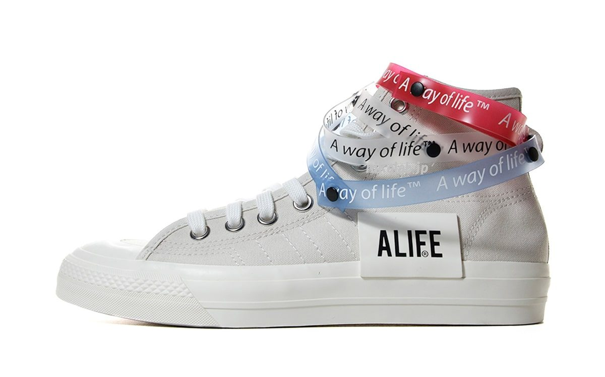 NYC's Alife Boutique Notches Up an adidas Nizza Hi Collaboration