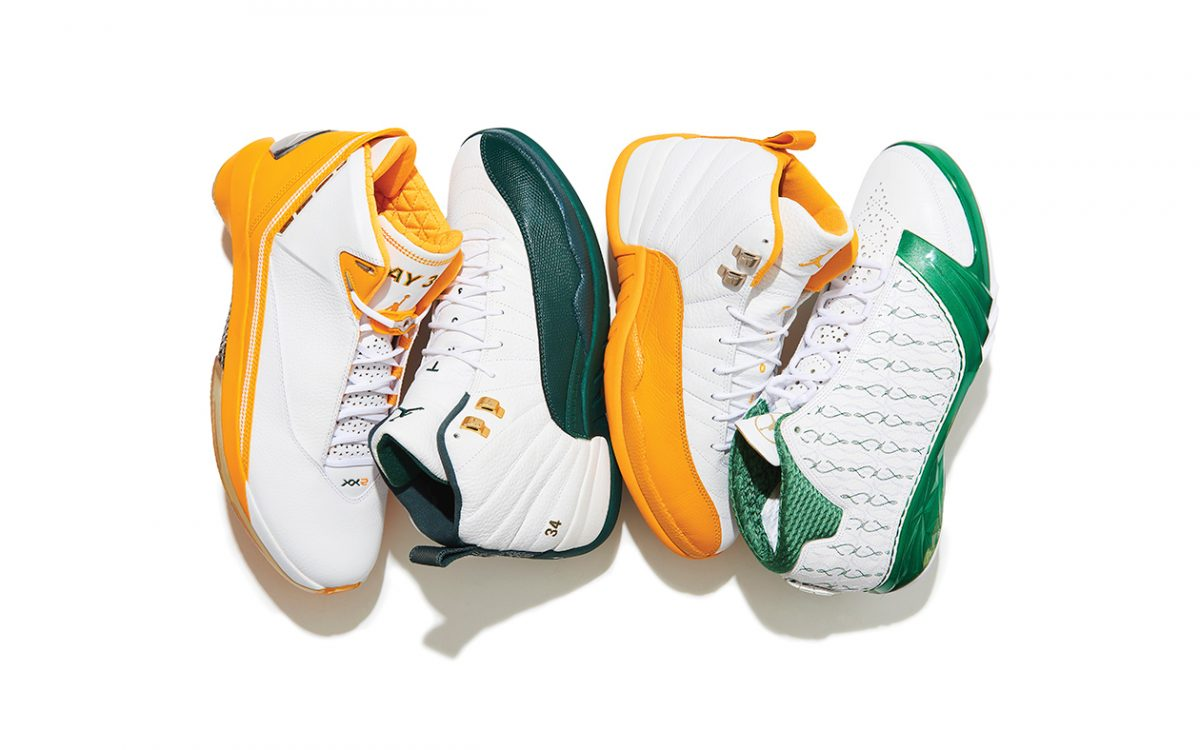 f35e81b7d5e RayBackWednesday // 10 of Ray Allen's Best Air Jordan PEs - HOUSE OF ...