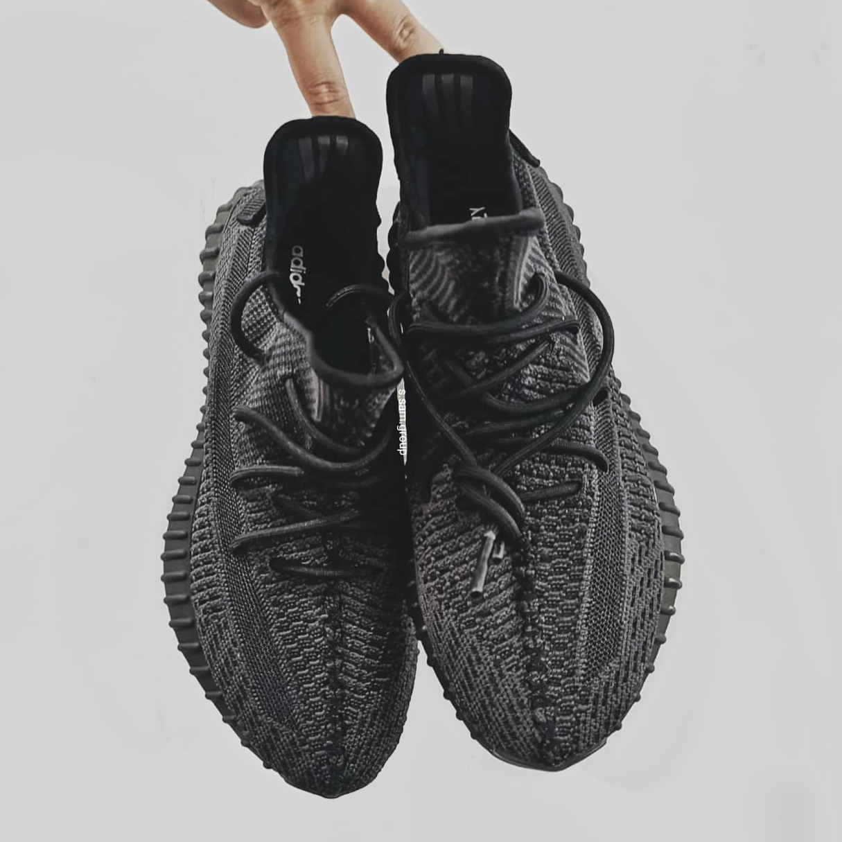 Triple Black YEEZY 350 v2