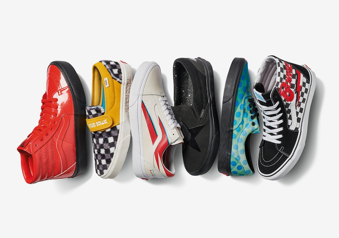 The David Bowie x Vans Collection Begins Releasing Today!