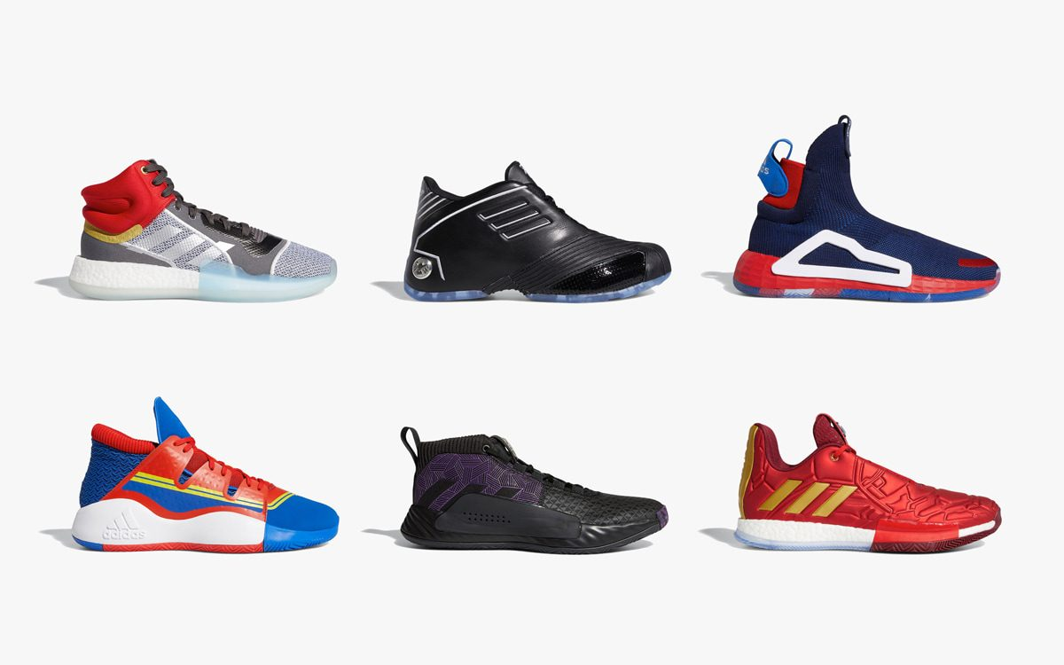 "Where to Buy the Entire adidas x Marvel ""Heroes Among Us"" Collection"