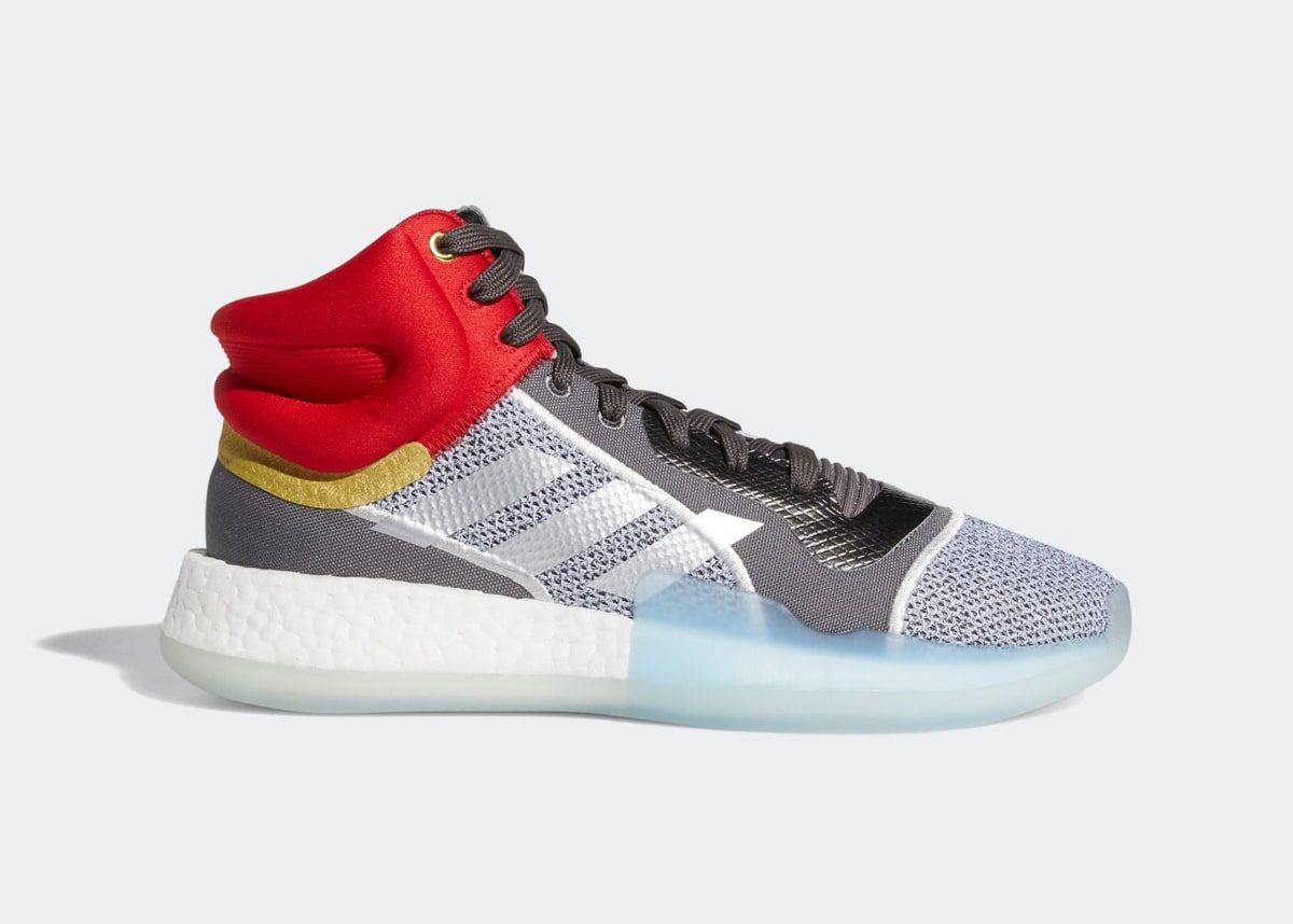 "Official Looks at the Marvel x adidas Marquee BOOST ""Thor"""