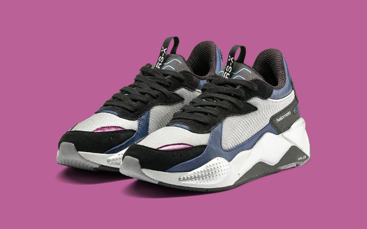 PUMA Partner with Motorolla on a Throwback-Themed RS-X Tech
