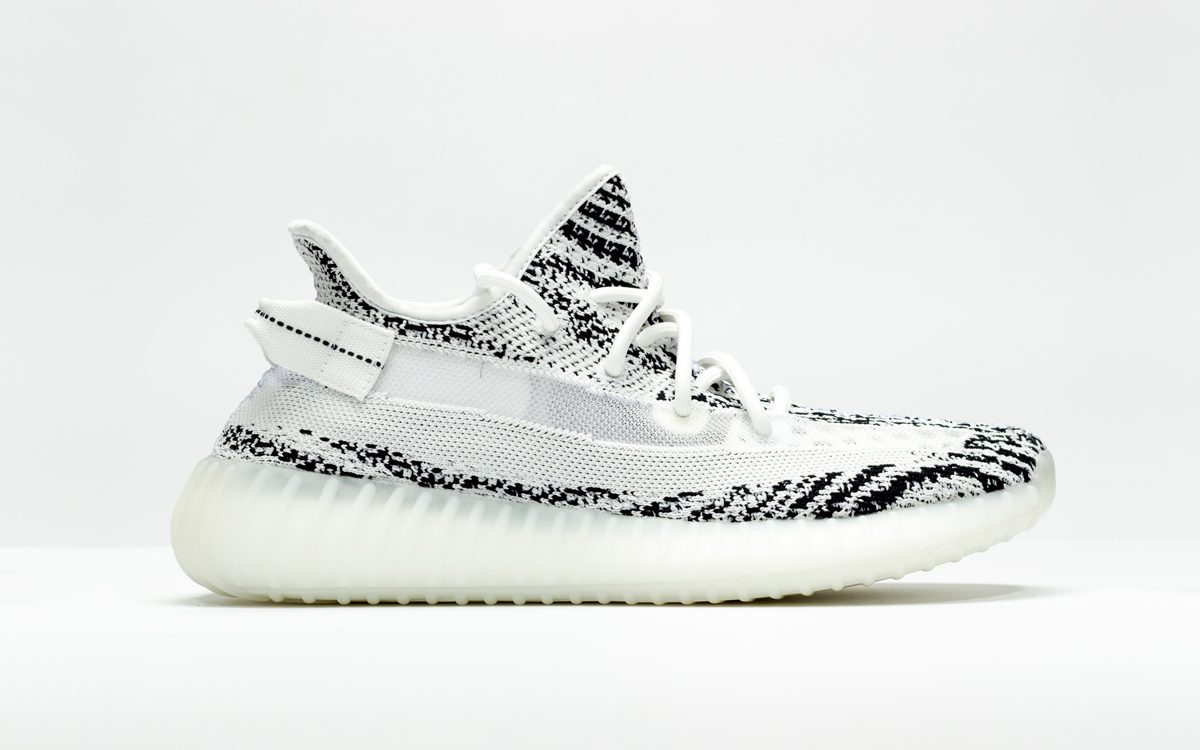 48d99d2433b New YEEZY 350 v2 Zebra Sample Surfaces with Translucent Stripes ...