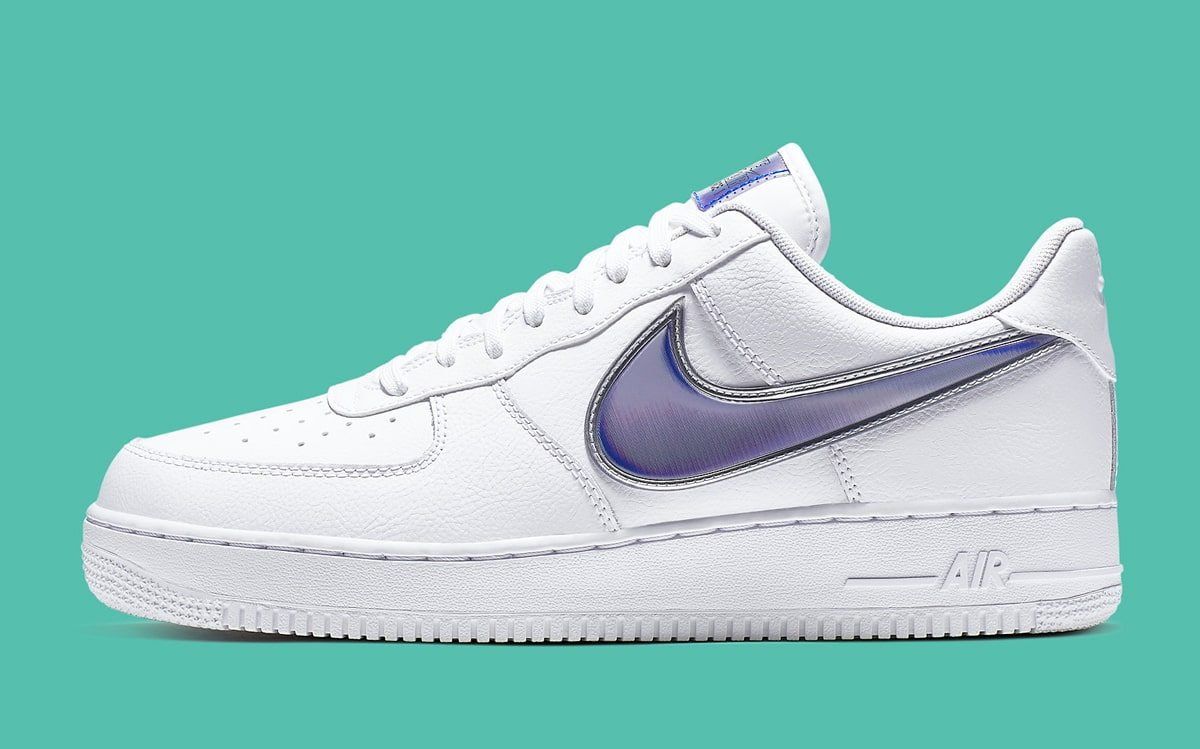 Available Now // Nike Usher in Oversized Swooshes for the Air Force 1