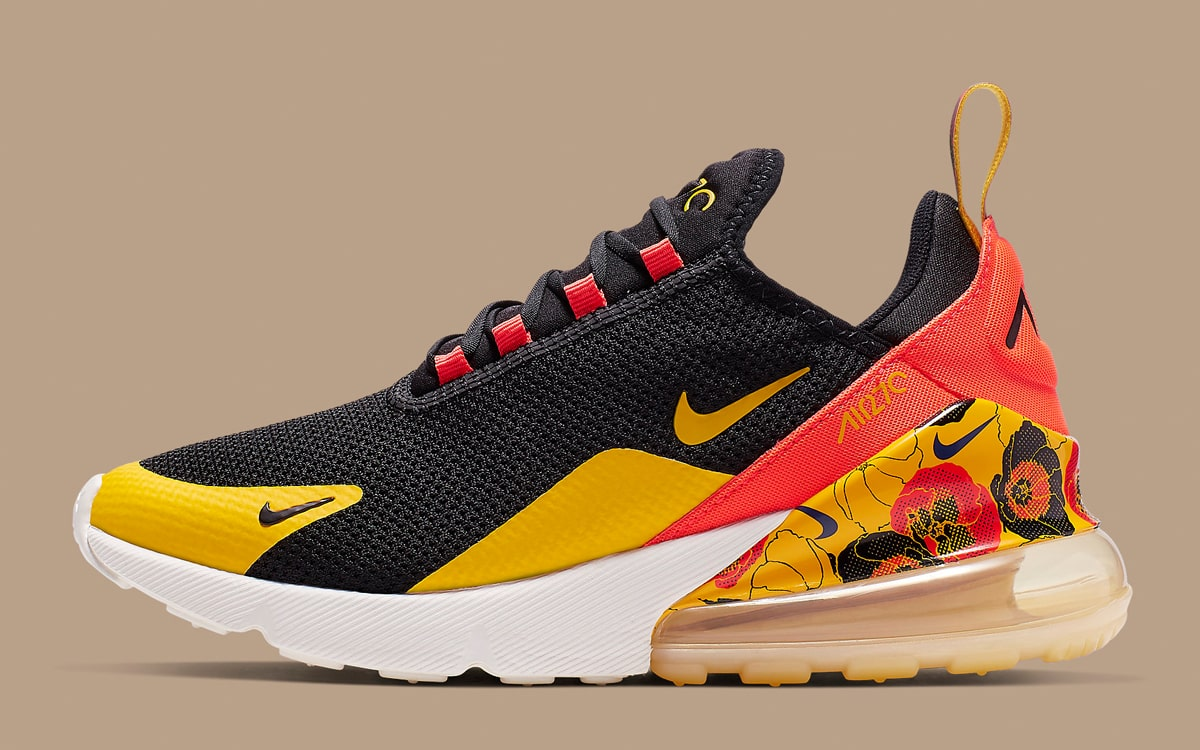 Floral Prints hit the Nike Air Max 270, Too! HOUSE OF HEAT