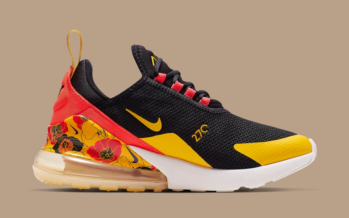 Floral Prints Hit The Nike Air Max 270 Too House Of Heat