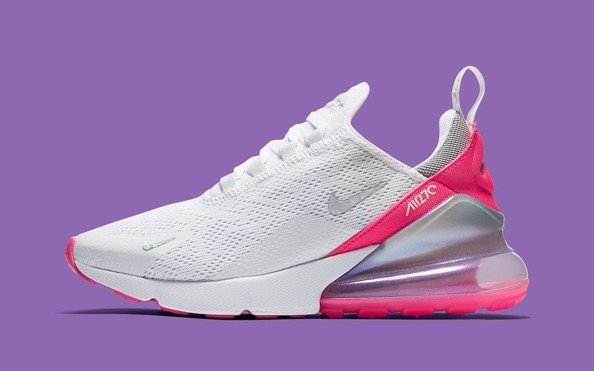 The Newest Air Max 270 Arrives With Pops Of Pink And Purple