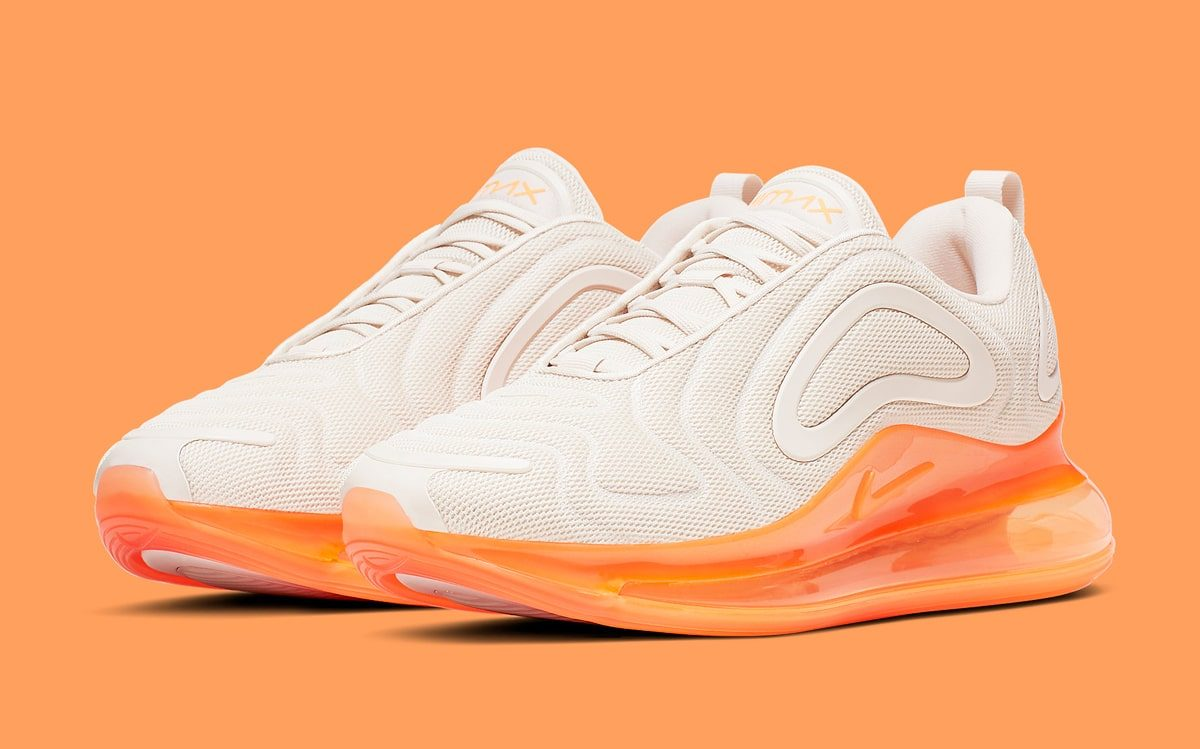 "Available Now // Nike Air Max 720 ""Creamsicle"""