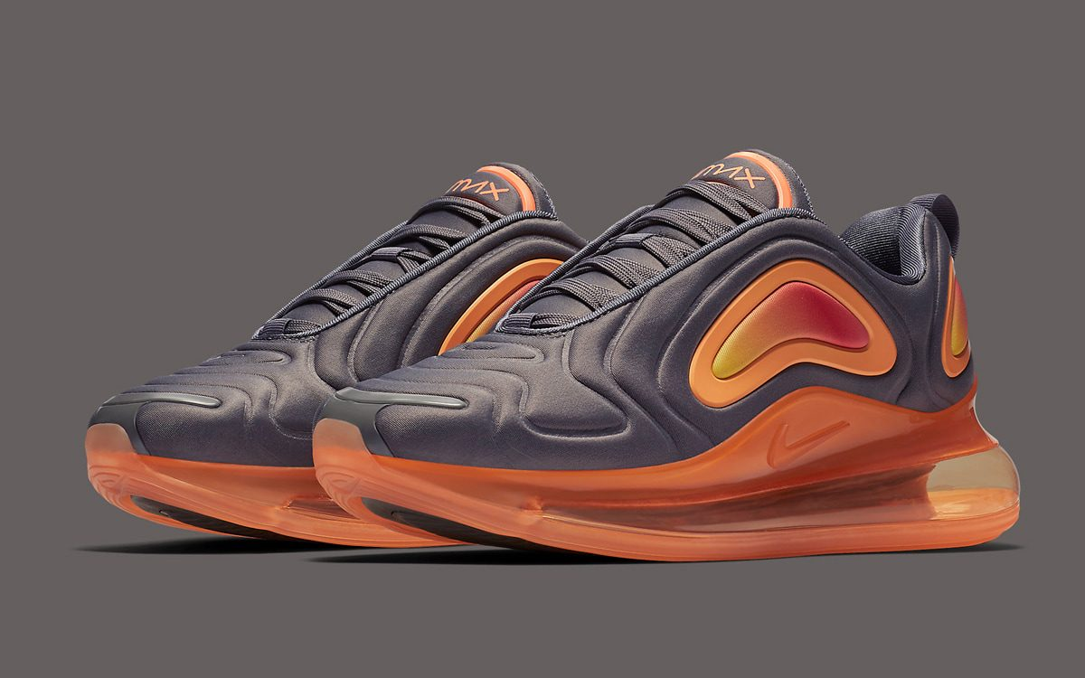 "Available Now // The Air Max 720 Gets Fixed in ""Fuel Orange"""