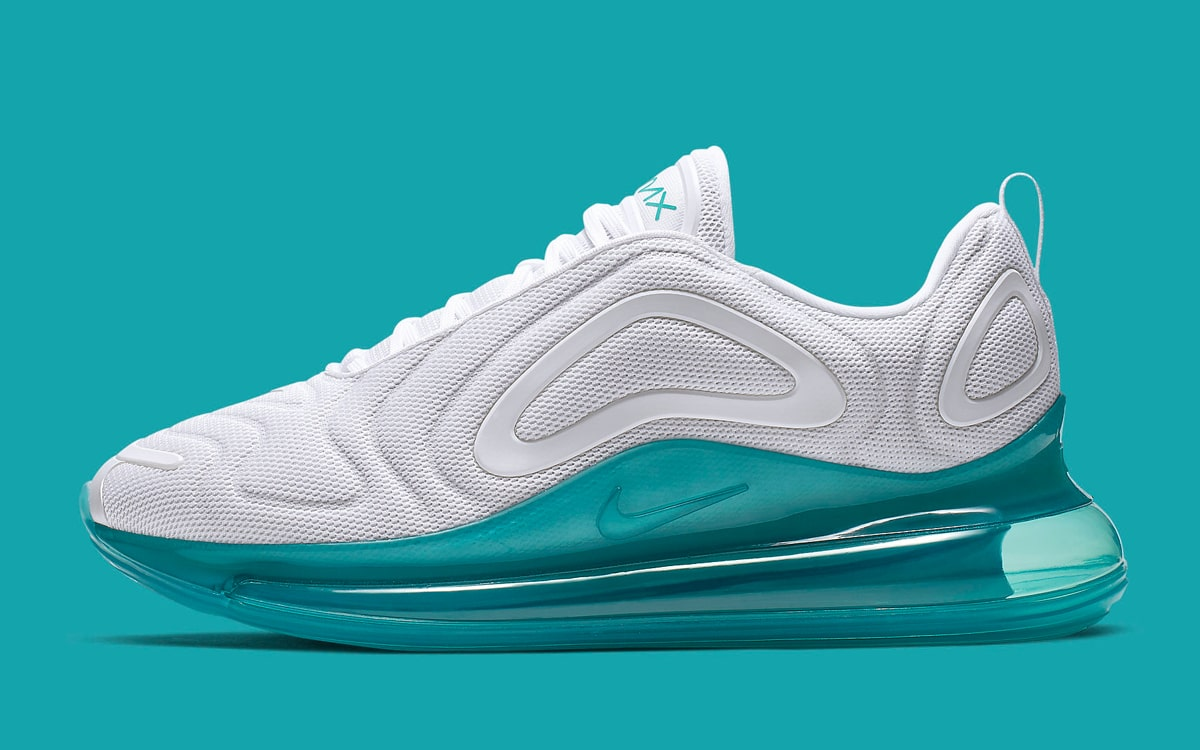 Available Now Spirit Teal Takes Over The Air Max 720 House