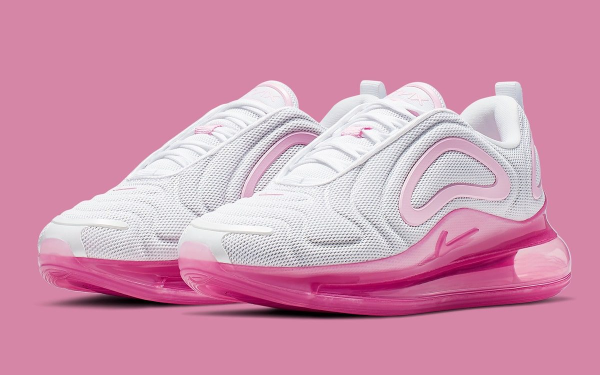 "finest selection a2e9a f462e Available Now    Bold Meets Beautiful on the Nike Air Max 720 ""Pink Rise"