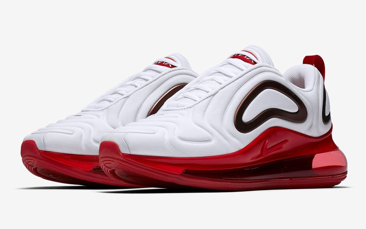 sale retailer 9b47f 64c74 Air Max 720s Arrive in White and Gym Red! - HOUSE OF HEAT ...