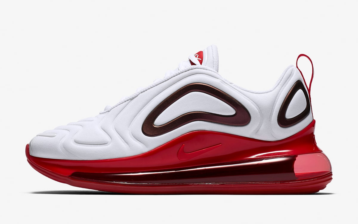 Nike WMNS Air Max 720 White Gym Red CD2047-100